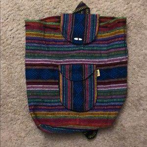 Mexican Baja backpack